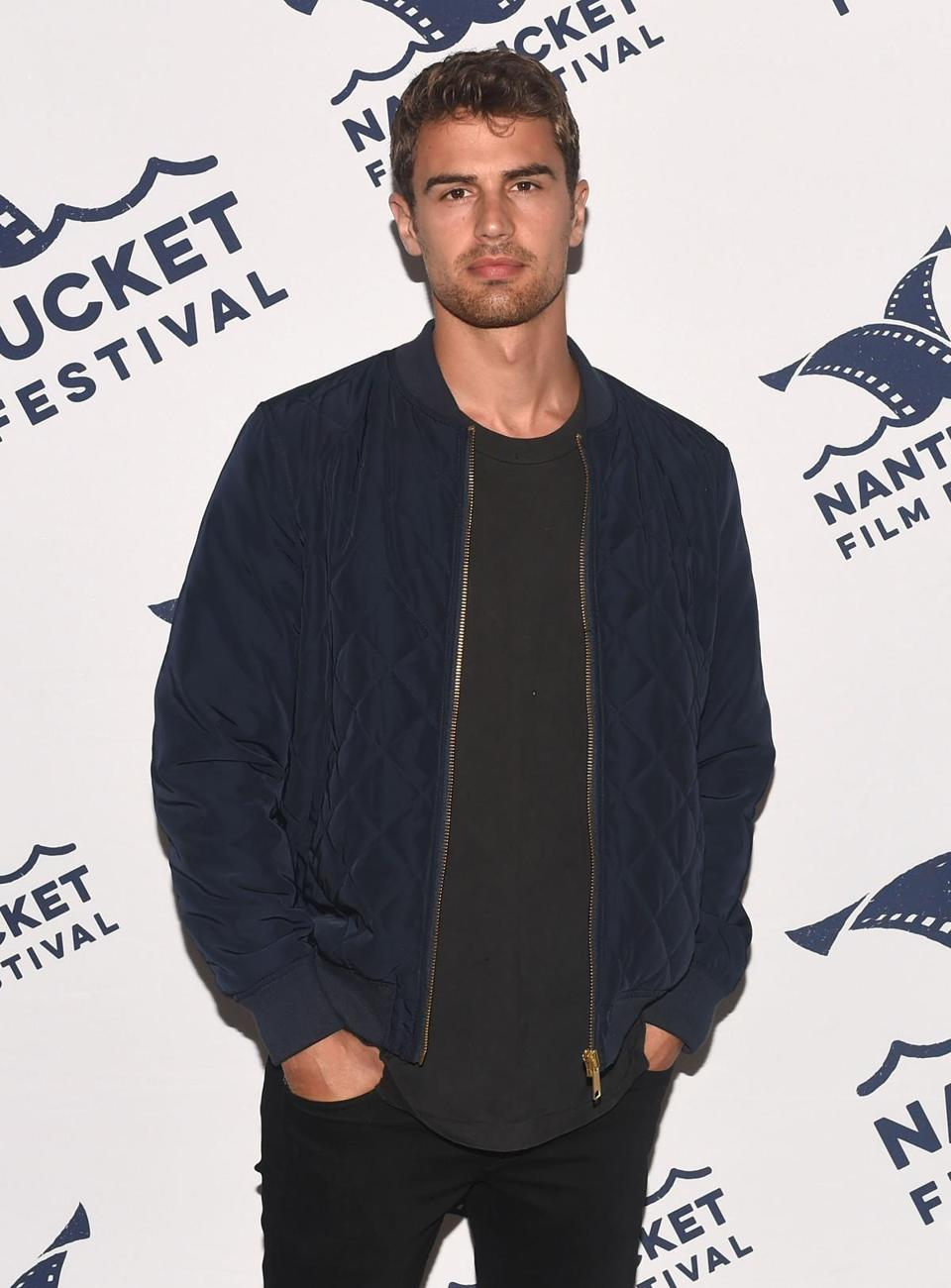 "Theo James attended the screening of ""Franny."""